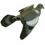 Lauku baloža māneklis, ar spārniem