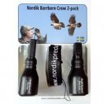 Vārnu svilpju komplekts Nordik Barrborn Crow 2-pack