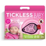 Ultraskaņas ērču atbaidītājs TICKLESS BABY rozā